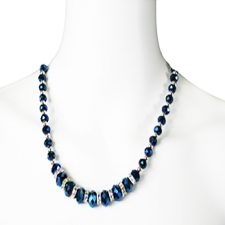 "Brett Stimely, ""Swarovsky"" Stones Necklace"