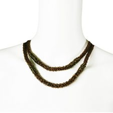 Brett Stimely, Double Raw Necklace