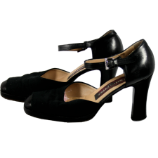 Lady Victoria Hervey Black Heel Shoes