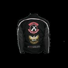 Lorenzo Lamas, Black Biker Jacket