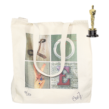 Brett Stimely Canvas Bag, Pre-Oscar's Academy Awards 2015 Celebrity Lifestyle Gift