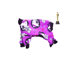 "Brett Stimely, Pre-Oscars Gift, Pajamas for Pit Bulls ""Hello Kitty"""
