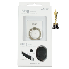 "Brett Stimely IRing ""Silver,"" Pre-Oscar's Academy Awards 2015 Celebrity Lifestyle Gift"