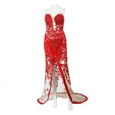 Celine Durand, Red Carpet Couture Dress