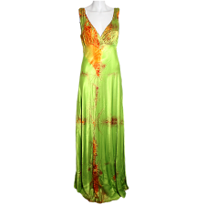 Paris Hilton Tie Dye Halter Dress