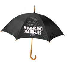 "Adam Rodriguez, Autographed ""Magic Mike""  Umbrella"