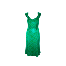 Vivica A. Fox Gift Green Stretch Dress